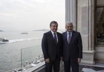 AVRASYA TÜNELİ - Özbekistan Cumhurbaşkanı İle Hatıra Fotoğrafı Çektirdi