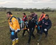 ALP ARSLAN - Şehit Er Sefa Parhan'ın Cenazesi Hastaneye Kaldırıldı
