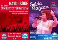 BİSİKLET TURU - Söke'de Selda Bağcan Cumhuriyet konseri verecek