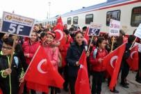 SÜLEYMAN KAMÇI - Tekden Cumhuriyet Eğitim Treni Sivas'a Uğurlandı