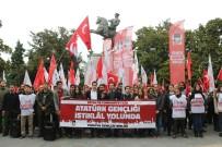 UĞUR MUMCU - TGB Üyelerinden Samsun'dan Ankara'ya 'İstiklal Yürüyüşü'