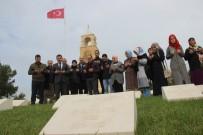 ŞEHİTLER ABİDESİ - Türkiye'nin Gönlünü Fetheden Madenciler Çanakkale Şehitliklerinde