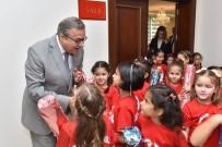 YURTTAŞ - Vali Su Öğrencilerle Bir Araya Geldi