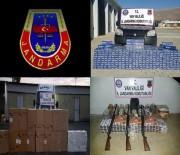 KAÇAK AKARYAKIT - Van'da Kaçakçılık Operasyonu