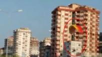 KARADENIZ SAHIL YOLU - Yamaç Paraşütü İle Karadeniz Sahil Yoluna İndi
