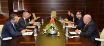 YABANCI TURİST - Almanya Büyükelçiliği Gıda Ve Tarım Müsteşarı Bohlen, ATSO'da