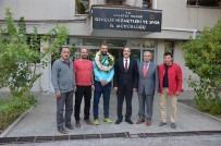 AMPUTE FUTBOL - Ampute Milli Takımı'nın Kalecisi Selim Karadağ'a Memleketinde Büyük İlgi