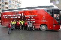 ATAŞEHİR BELEDİYESİ - Ataşehirliler Cumhuriyet İçin Yürüyecek