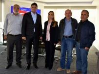 SERKAN ACAR - Başkan Acar'a THK'dan Teşekkür Ziyareti
