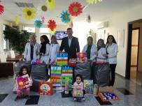 HAYVAN SEVGİSİ - Başkan Çetin, Nezaket Okulu Öğrencilerine Oyuncak Hediye Etti