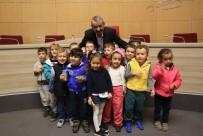 HALİL İBRAHİM ŞENOL - Başkan Şenol, Anaokulu Öğrencileriyle Buluştu