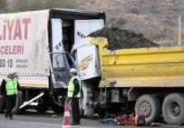 HÜSEYIN KALKAN - Başkent'te Trafik Kazası Açıklaması 1 Ölü