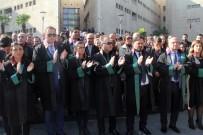 TUTUKLAMA TALEBİ - Bursa Barosundan Avukata Yapılan Bıçaklı Saldırıya Tepki