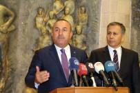 İSTİHBARAT BİRİMLERİ - Çavuşoğlu'ndan Bağdat-Peşmerge Ateşkesi Açıklaması