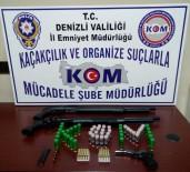 RUHSATSIZ SİLAH - Denizli'de Silah Ve Tarihi Eser Kaçakçılığı Operasyonu