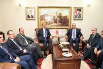 MEHMET AKYÜREK - Dışişleri Bakanı Mevlüt Çavuşoğlu Şanlıurfa'da
