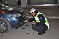 SİVİL POLİS - Elbistan'da Abartı Egzoz, Sis Farı Ve Cam Filmi Denetimi