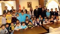 YEREBATAN SARNıCı - İstanbul Gezisinde Dönen Öğrencilerden Vali Toprak'a Ziyaret