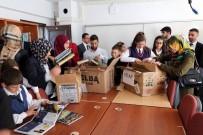 KYK Öğrencilerinden 'Kardeş Okula' Kitap Desteği