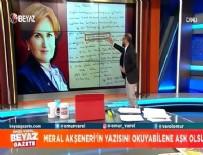 BEYAZ GAZETE - Meral Akşener'e canlı yayında Türkçe dersi