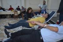 SÜLEYMAN ELBAN - Muhtarlar 47 Ünite Kan Bağışında Bulundular