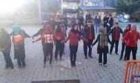 DEVAMSIZLIK - Sağlıklı Yaşam İçin Öğrenciler Her Sabah Spor Yapıyor