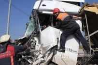 OKMEYDANı - TEM Otoyolu Bağlantı Yolunda Hafriyat Kamyonu Kazası Açıklaması 1 Yaralı