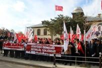 TÜRKIYE GENÇLIK BIRLIĞI - TGB'li Gençler 'İstiklal Yürüyüşü'nde Erzurum'da