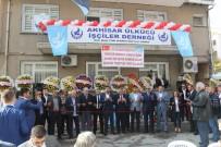 ALPARSLAN TÜRKEŞ - Ülkücü İşçiler Derneği Akhisar Şubesi Açıldı