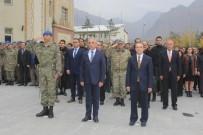 HAKKARI VALILIĞI - 29 Ekim Cumhuriyet Bayramı Çelenk Sunma Töreni