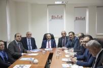 MUSTAFA TOPRAK - Ahlat'ta Tarihi Kent Tasarımı Proje Toplantısı