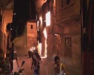 KİREMİTHANE - Ahşap Evde Çıkan Yangın Korkuttu