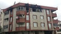 YANGIN PANİĞİ - Arnavutköy'de Çok Sayıda Tüp Bulunan Evde Yangın Çıktı