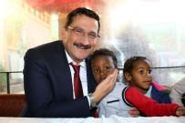 HACI BAYRAM-I VELİ - Başkan Ak Yine Halkla Beraber Yine Halkın İçinde