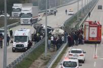 KONURALP - Beton Mikseri Devrildi, Sürücü Hayatını Kaybetti