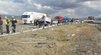 Bolu'da Trafik Kazası Açıklaması 1 Ölü, 4 Yaralı