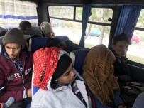 İNSAN KAÇAKÇISI - Çanakkale'de 45 Kaçak Yakalandı