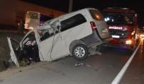 AKSAKAL - İki Araç Kafa Kafaya Çarpıştı Açıklaması 2 Ölü