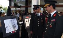 UZMAN JANDARMA - Muğla İl Jandarma Komutanlığı'ndan 29 Ekim Anısına Karakalem Ve Ahşap Oyma Sergisi