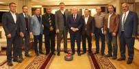 MEHMET SEKMEN - TCF Başkanı Şebin Açıklaması 'Spora Bu Denli Destek Veren Bir Başkan Daha Yok'