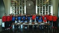 CENGIZ ZÜLFIKAROĞLU - TFF'den Olimpiyat Şampiyonu Millilere Moral Yemeği