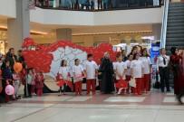 ÇOCUK KOROSU - 29 Ekim Cumhuriyet Bayramı'nda Çocuklar Türkiye Puzzle'ı Yaptı