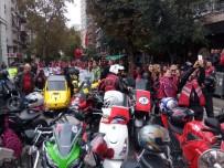 EDIRNEKAPı - Binlerce Motosikletliden Cumhuriyet Bayramı Korteji
