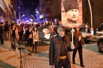 CHP'den Gümüşhane'de 'Cumhuriyet, Vatan Ve Hürriyet' Yürüyüşü