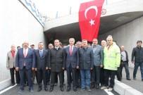 MÜCAHİT YANILMAZ - Elazığ'da 'Katlı Kavşak' Projesinin Alt Geçit Kısmı Trafiğe Açıldı
