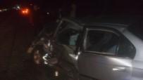 Emet'te Trafik Kazası Açıklaması 5 Yaralı