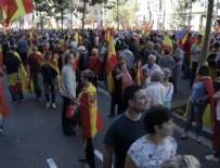 MARİANO RAJOY - İspanya'da birlik yanlıların gösterisi sona erdi