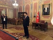 MEVLÜT UYSAL - İstanbul Valisi Vasip Şahin 29 Ekim Tebriklerini Kabul Etti