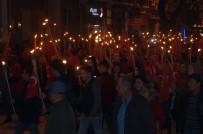 KORDON - Lapseki'de Fener Alayı Yürüyüşü