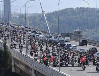 EDIRNEKAPı - Motosikletlerle 'Cumhuriyet Bayramı' korteji oluşturuldu